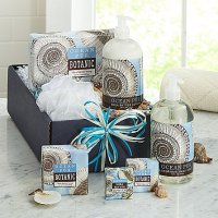 Seashell Ocean Escape Spa Basket