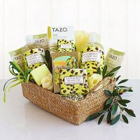 Natural Cucumber & Olive Oil Spa Basket