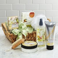 Elegant Orchid Spa Sensation Basket