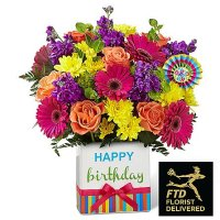 Birthday Brights Bouquet(Ultimate)