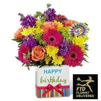Birthday Brights Bouquet(Premium)