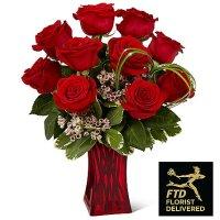 Rush of Romance Red Rose Bouquet(Premium)