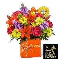 Set to Celebrate Birthday Bouquet(Deluxe)