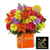 Set to Celebrate Birthday Bouquet(Premium)
