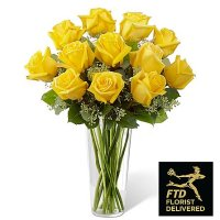 Yellow Rose Bouquet (Standard)