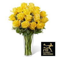 Yellow Rose Bouquet (Deluxe)