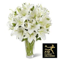 Spirited Grace Lily Bouquet (Deluxe)