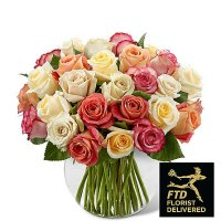 Sundance Rose Bouquet (Premium)