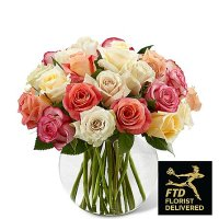 Sundance Rose Bouquet (Deluxe)