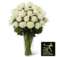 White Rose Bouquet (Premium)
