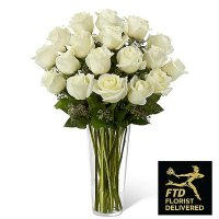 White Rose Bouquet (Deluxe)