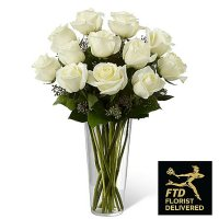 White Rose Bouquet (Standard)