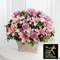 Loving Sympathy Basket (Premium)