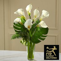 Always Adored Calla Lily Bouquet (Deluxe )