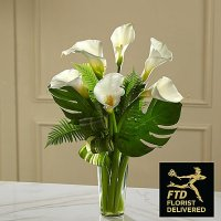 Always Adored Calla Lily Bouquet (Standard)