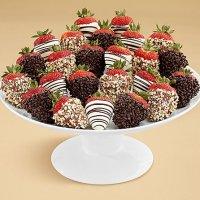 Two Full Dozen Gourmet Dipped Fancy Strawberries